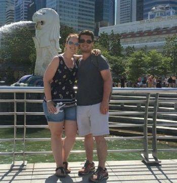 Pam & Nick Wright (before)