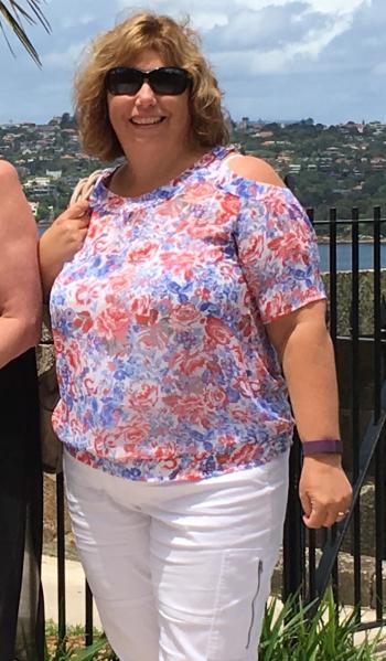 Sharon Ricketts (before)