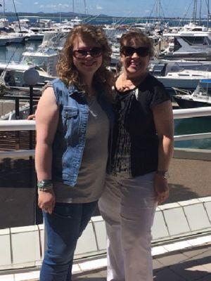 Sandy and Alissa Vasserman (before)