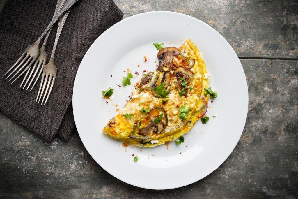 Dairy Free Skinny Omelette