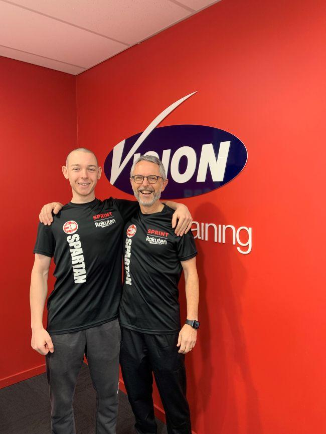 Brian and Kieran O'Grady (after)
