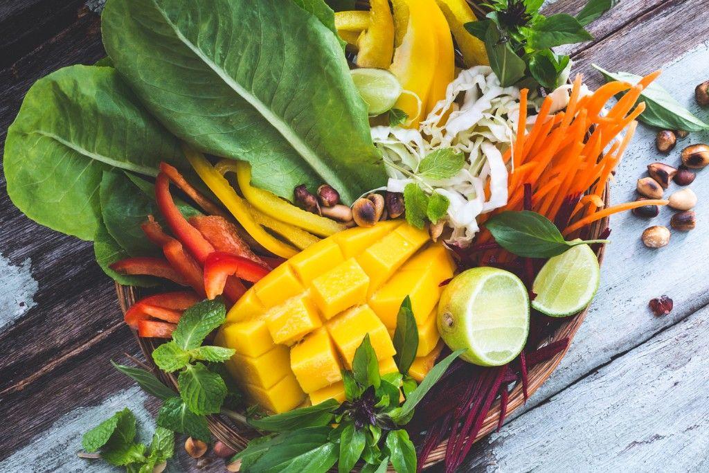 Crunchy Green Mango Salad