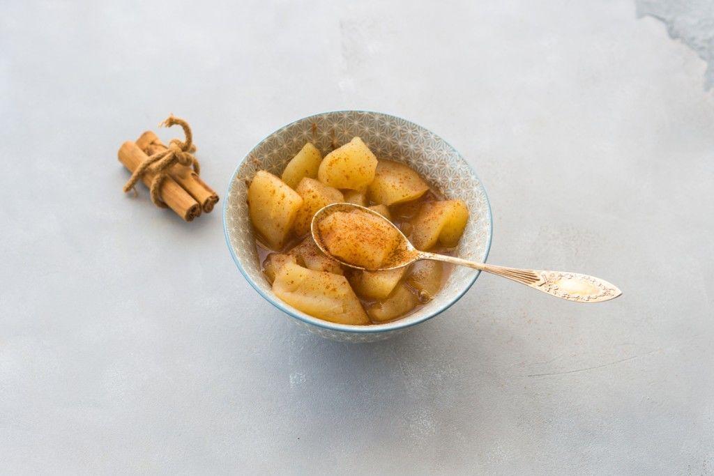Stewed Apples with Greek Yoghurt